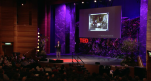 July 2011: TED Global Conference in Scotland